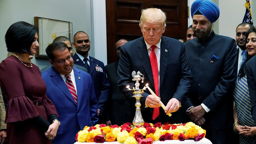 Indians 'very good' trade negotiators, says Donald Trump at White House Diwali function