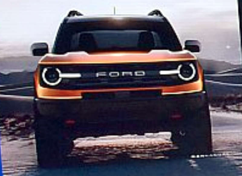Ford Bronco SUV leaked ahead of debut – Could be based on Endeavour
