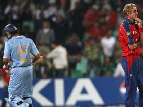 Stuart Broad brutally trolls himself recalling incident where he was hit for six 6s by Yuvraj Singh