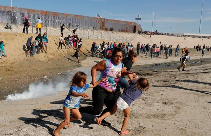 """There Were Children,"" Says Migrant Mother Tear-Gassed At US Border"