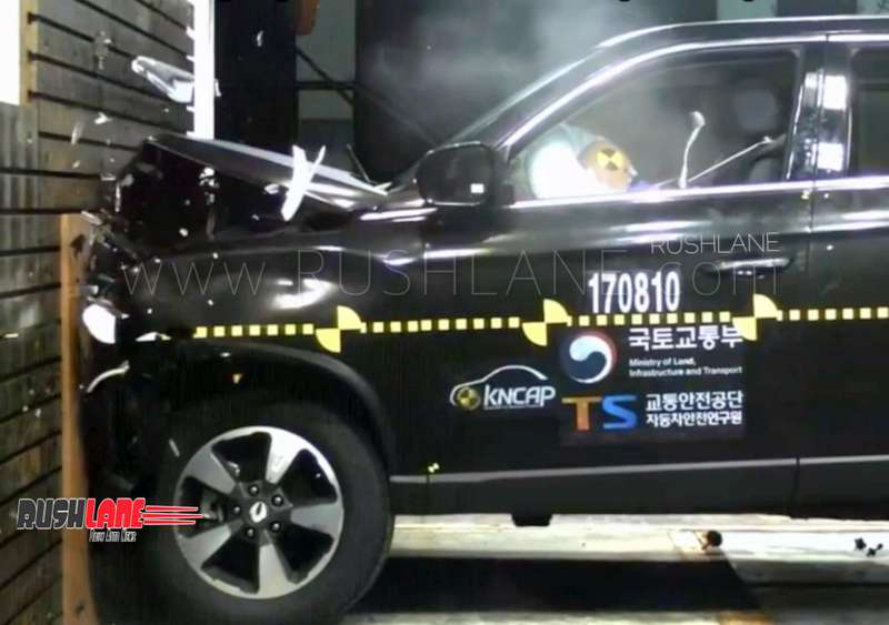 Mahindra Alturas crash tested – Gets 5 star safety rating like Toyota Fortuner SUV