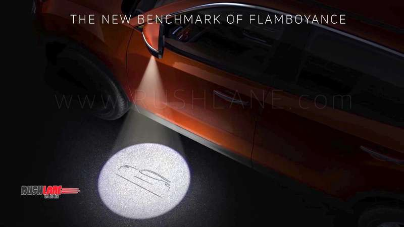 Tata Harrier SUV gets puddle lamps like Land Rover Discovery – Teaser video