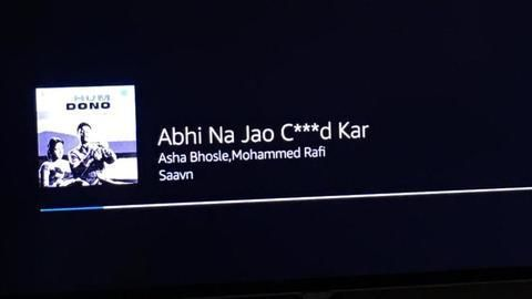 Twitterati ROFL Over Censored Hindi Song: 'Abhi Na Jao Ch**d Kar'