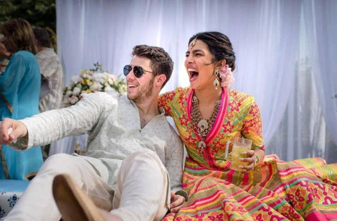Stop. Look. Breathtaking Inside Pics From Priyanka Chopra And Nick Jonas