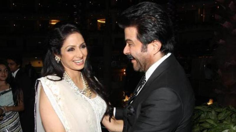Anil Kapoor would touch Sridevi's feet every time they met, reveals the versatile actor