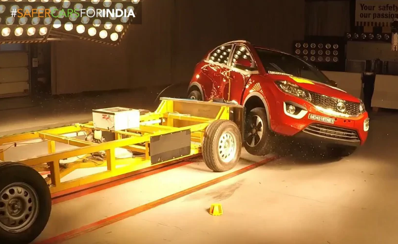 Tata Nexon Creates History With 5 Star Global NCAP Crash Test Rating