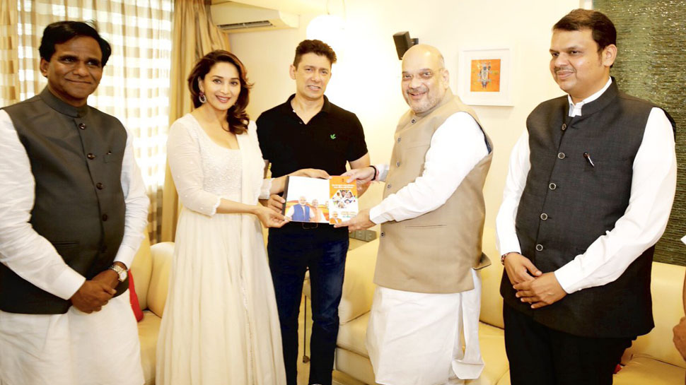 BJP may field Madhuri Dixit from Pune in 2019 Lok Sabha elections