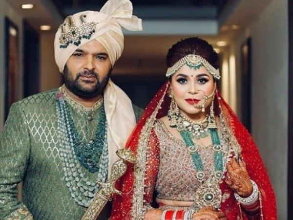 Kapil Sharma, Ginni Chatrath are married. See latest pics from their wedding