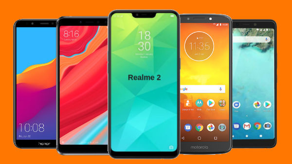 Top 5 smartphones of 2018 under Rs. 10,000: From Realme 2, Redmi Y2, Honor 7C, and more