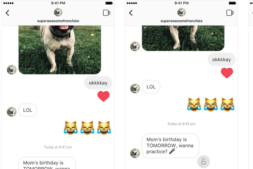Instagram Introduces Voice Messaging to Direct