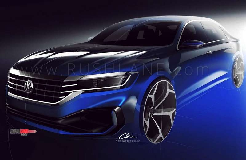 2019 Volkswagen Passat first official teasers ahead of launch