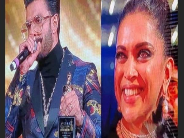 VIDEO! Deepika Padukone gets teary-eyed as Ranveer Singh wins Best Actor award and says,