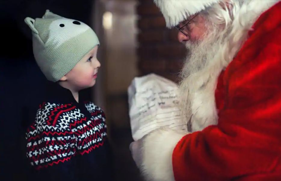 Children stop believing in Santa Claus by age of eight: Survey