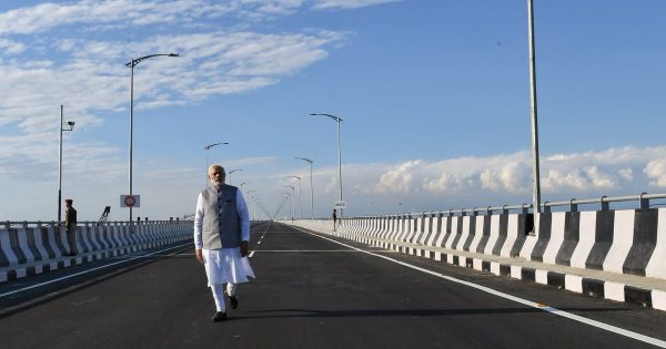 India's longest road-rail Bogibeel bridge can bear weight of India's heaviest battle tanks, fighter jets