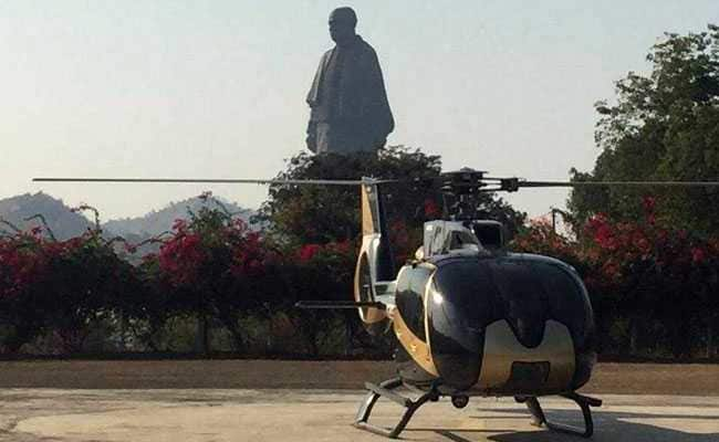 Statue Of Unity Now Gets A Chopper Ride. Here