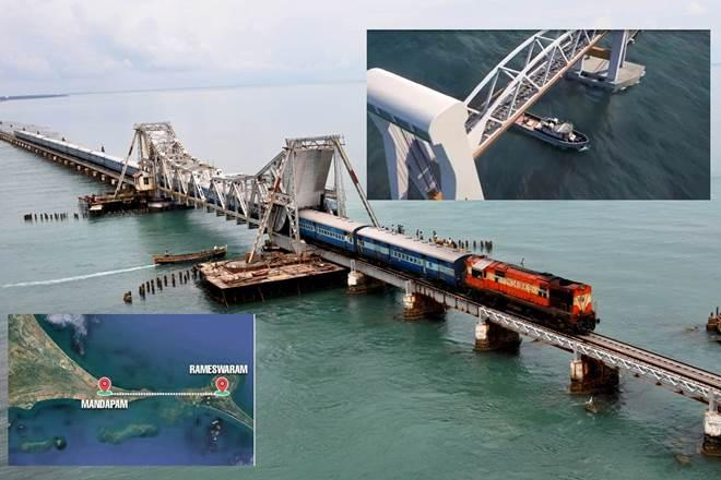New Pamban bridge and a rail link to Ram Setu! These 2 big Indian Railways projects are spectacular