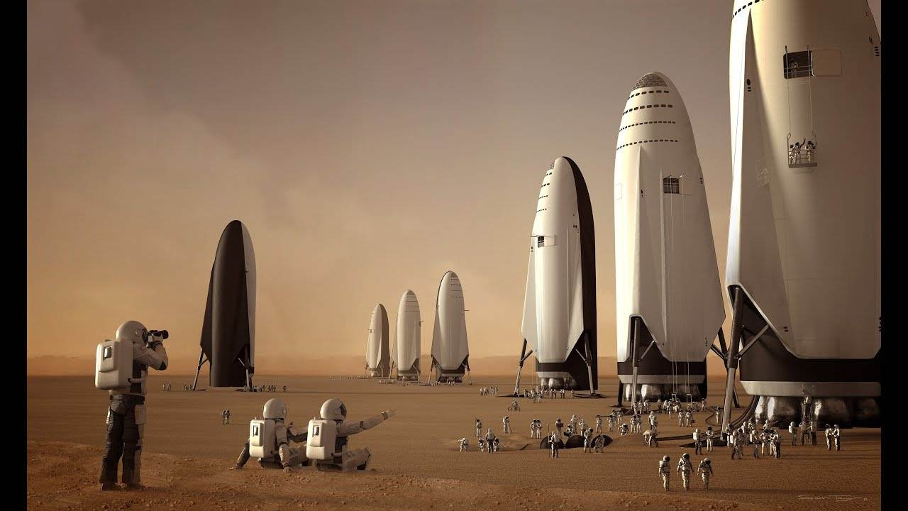 ELON MUSK INTENDS TO SEND 100 PEOPLE TO MARS ON SPACEX STARSHIP