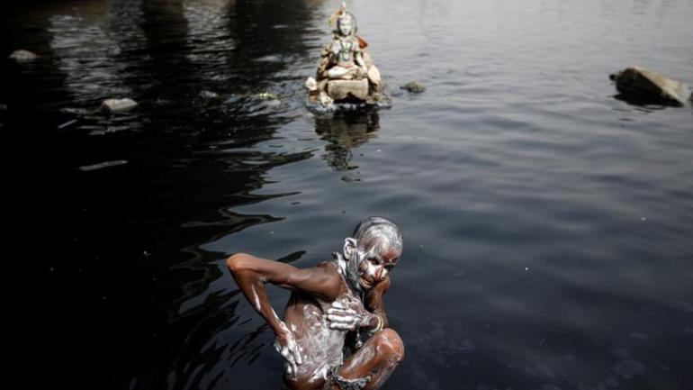 Unacceptable: NGT panel on spike in metal content in Yamuna due to immersion of idols