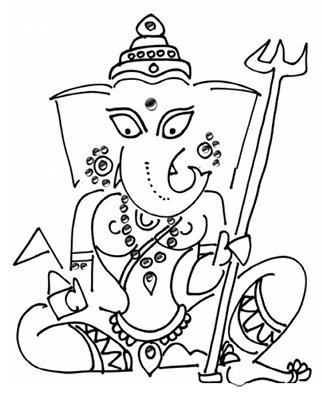 Vinayaki : The female Ganesha