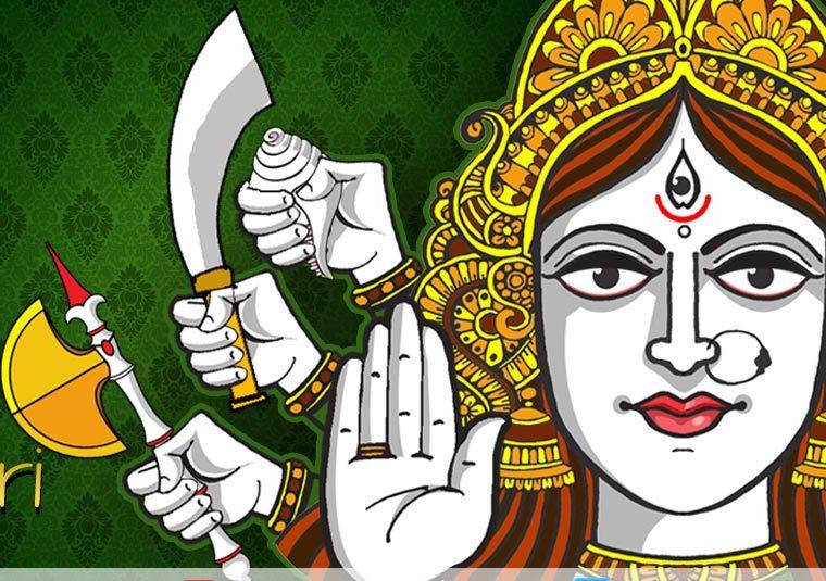 Differences between Amba, Kali and Durga