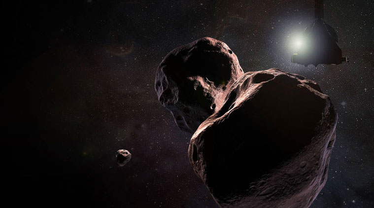 NASA's Horizons spacecraft beams back first images of distant world Ultima Thule