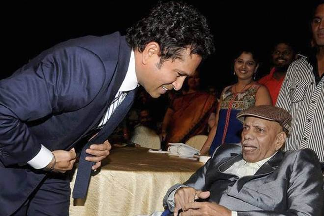 "Sachin Tendulkar Pays Tribute To Ramakant Achrekar, Says ""May You Coach More Wherever You Are"""