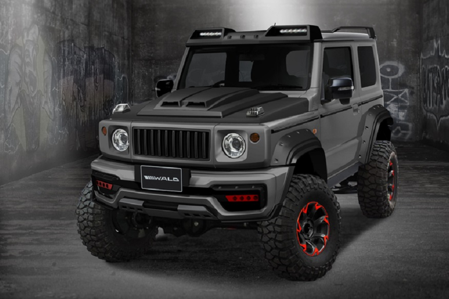 Suzuki Jimny Black Bison Edition Looks Like An Off-Roading Monster