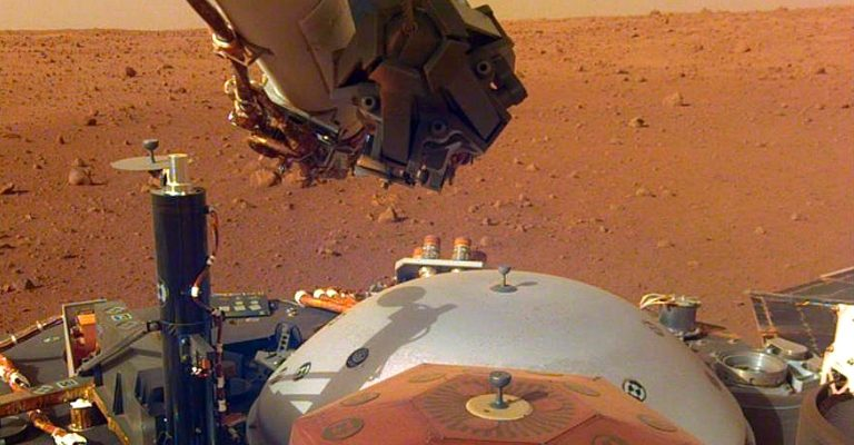 NASA Captures Audio of Mars Surface for the First Time (Listen)