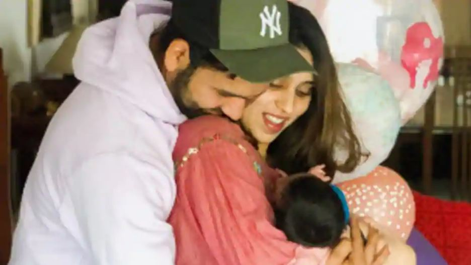 Rohit Sharma reveals his daughter's name, pens beautiful poem for her