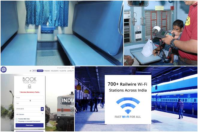 Swanky, faster trains, new reservation charts & more! 8 passenger friendly Indian Railways steps by March 2019