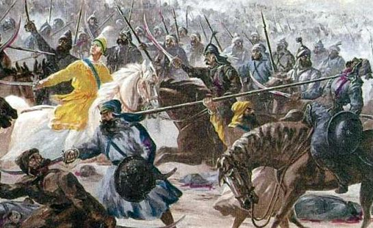 The Battle of CHAMKAUR