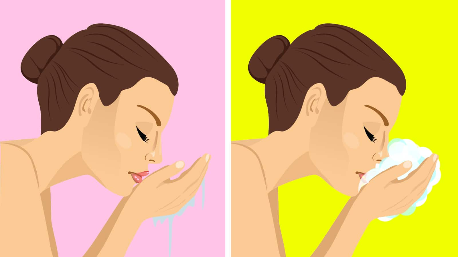 4 Mistakes to Never Make When Washing Your Face