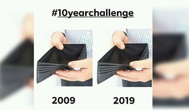 10 Of The Funniest Responses To The Viral #10YearChallenge