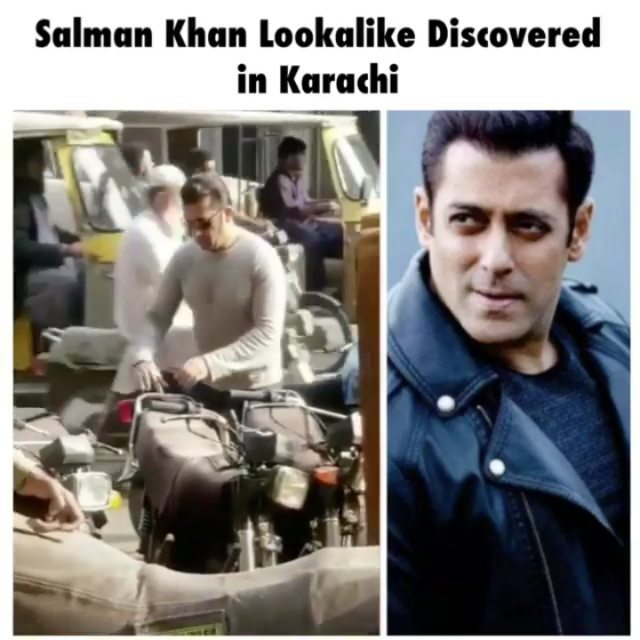 No One Like Bhai? Salman Khan Lookalike Spotted In Pakistan
