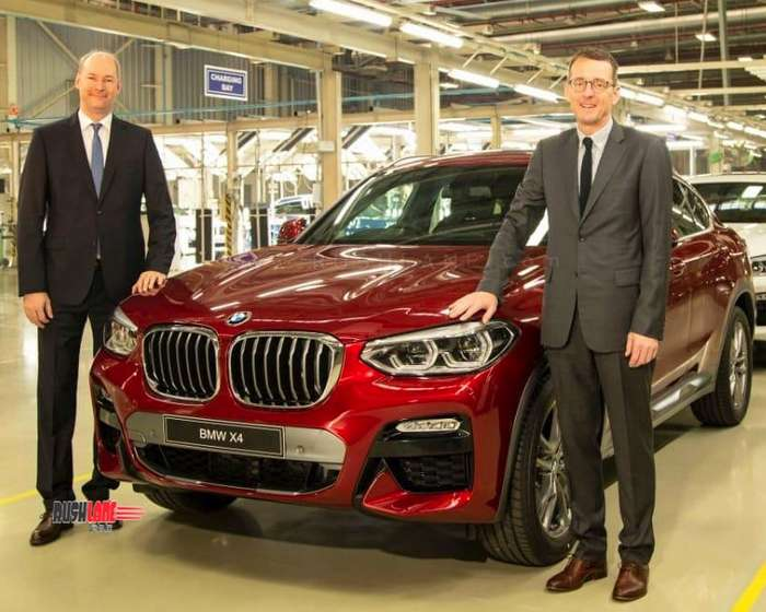 2019 BMW X4 SUV launch price Rs 60.6 lakhs – Petrol, diesel engine options