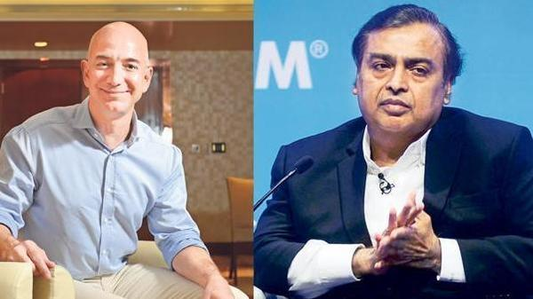 Jeff Bezos vs Mukesh Ambani is the bout that had to happen