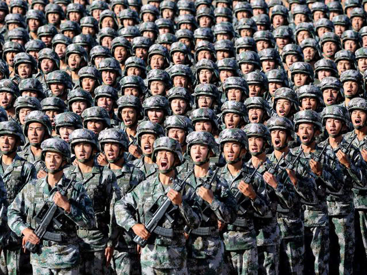 China reduces army by half, increases size of navy and air force in big way