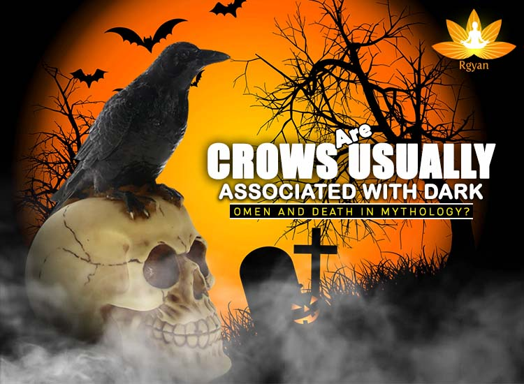 Are Crows usually associated with dark omen and death in mythology?