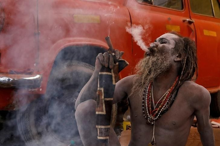 'No more high': Naga sadhus at Kumbh vow to quit smoking, hand over chillums at Ramdev's call