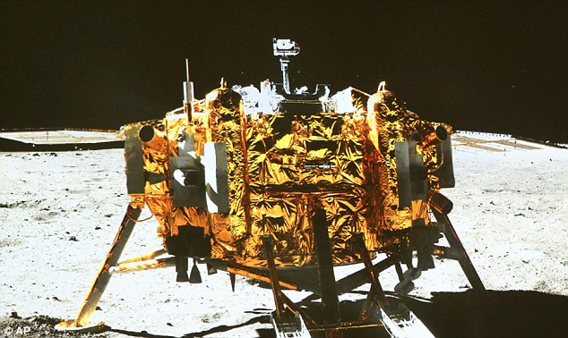 The first soft landing on the moon