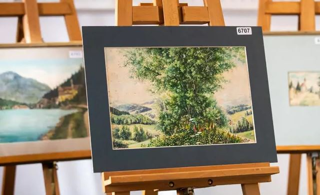 Adolf Hitler Paintings Fail To Sell At Auction In Germany