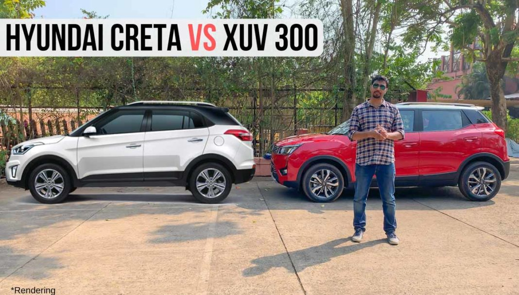 Mahindra XUV 300 vs Hyundai Creta – Comparison