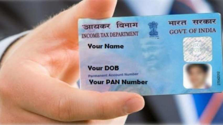 Is there an error in your PAN card? Here's how you can correct it