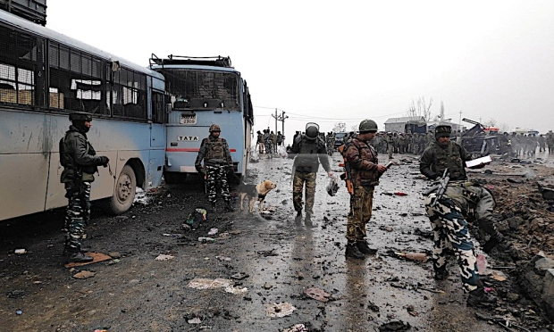 40 CRPF Men Killed In Worst Terror Attack On Forces In Kashmir, India Condemns Pakistan