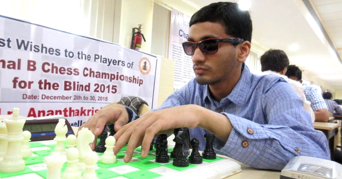 This 24-YO Visually Impaired Chess Player From Gujarat Just Created History!