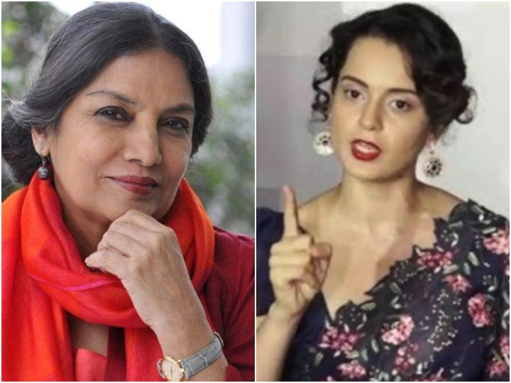 Shabana Azmi reacts to Kangana Ranaut calling her anti-national