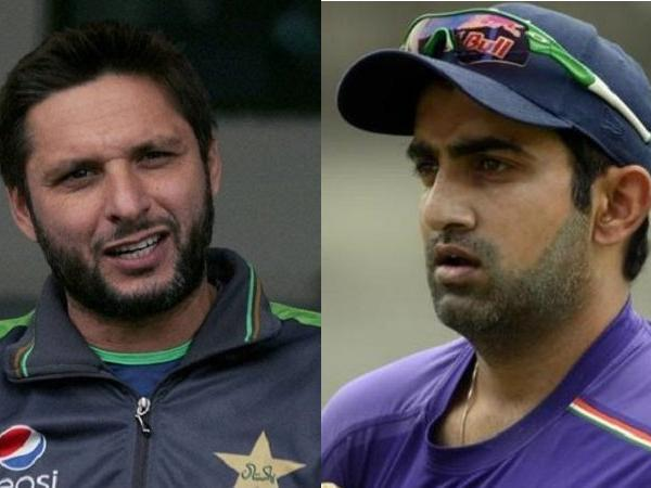 Watch: How Shahid Afridi reacted on being asked about Gautam Gambhir