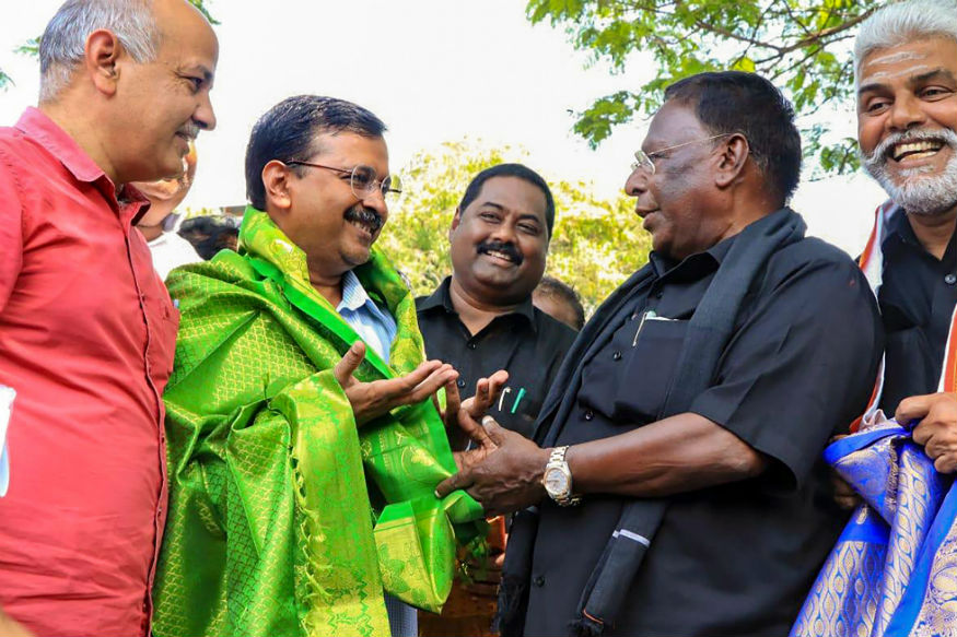 Is There More to Arvind Kejriwal Expressing Solidarity With Congress CM in Puducherry?