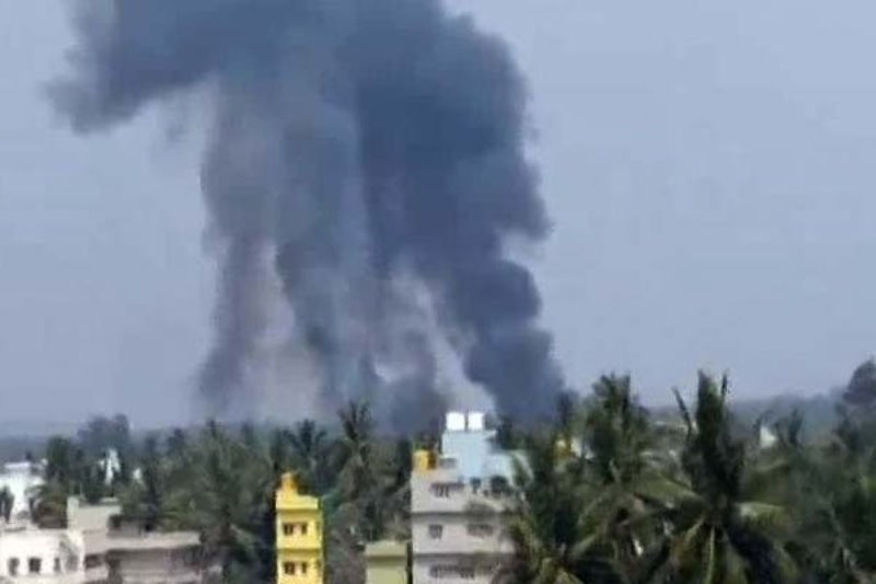 Pilot Killed As 2 Jets Of Air Force Aerobatic Team Collide In Bengaluru