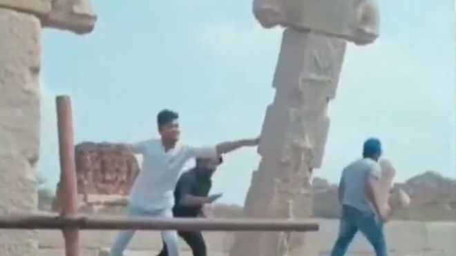 Men Who Damaged 16th Century Hampi Ruins Made To Re-Erect Pillars: Report